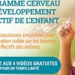Programme cerveau et développement affectif de l'enfant